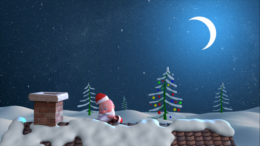 cccccc-Create a Happy Santa Christmas Intro Video