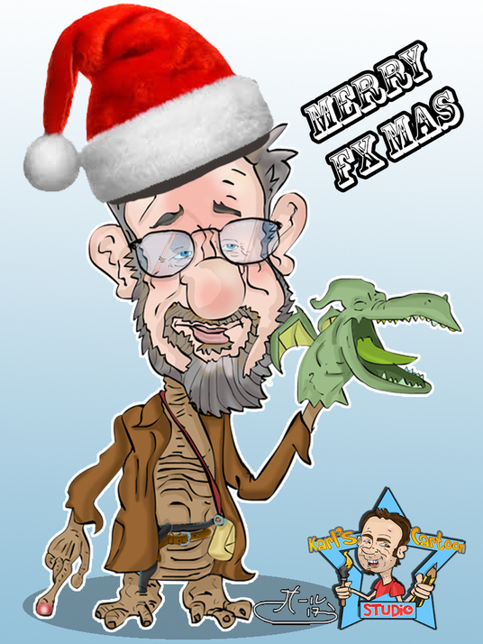 I will make you an Xmas Caricature From £10 pp
