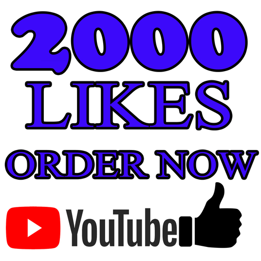 I will give you 2000+ YouTube Likes