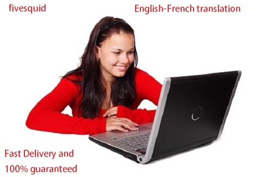 I will Provide Top Quality English French Translation