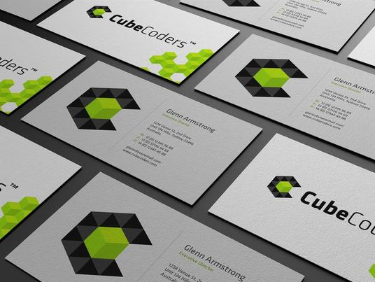 I will Create Logo And Amazing Double Sided Business Cards