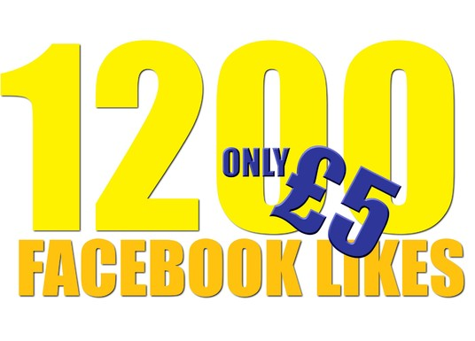 I will add 1200 Facebook Likes in 24 hours