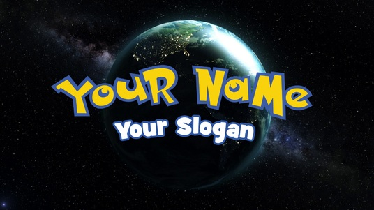 I will reveal your name in this POKEMON GO style video intro