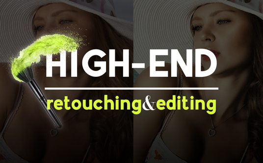 I will do high end photo retouching quick and professional