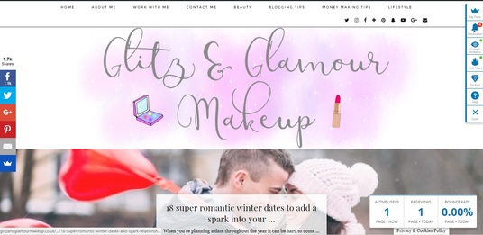 I will put your ad on my highly successful beauty blog with over 2000 monthly uniques