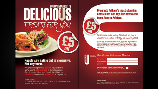 ATTRACTIVE Flyer/Poster for your Resturant