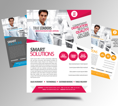 Design Professional Business Flyers/Posters