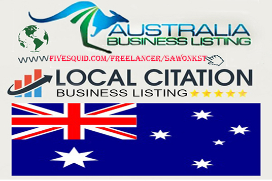 I will Create 40 Australia Local Citations