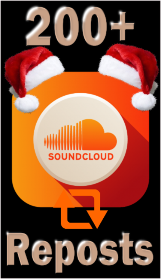 I will Provide 200+ Real Soundcloud Reposts to your awesome music