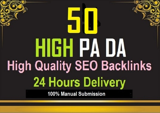 I will Give High PA DA Unique and Permanent SEO Backlinks