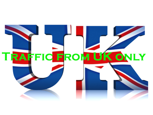 I will  deliver 10,000 UK Website Traffic
