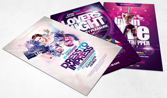 create an eye-catching flyer for any event