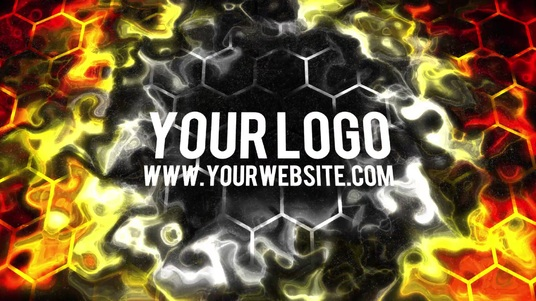 reveal your logo with a ENERGY wave animation video intro