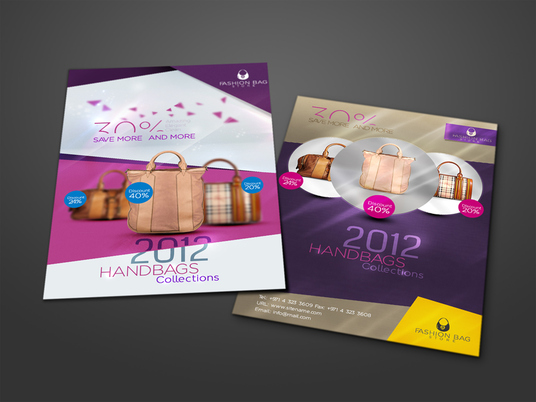 I will Design Dual Side Flyers For You