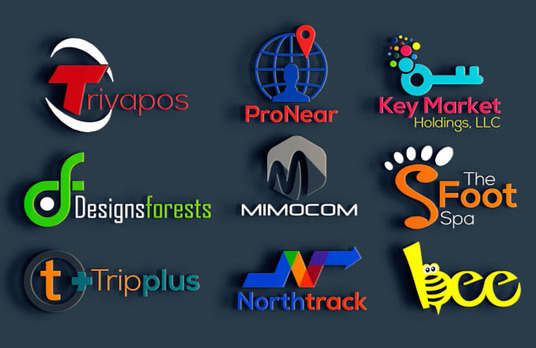 I will Design Amazing 3d Logo design