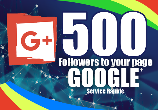I will add 500 Followers to your Google+ Page