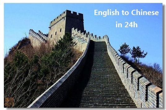 I will translate technical terms English to Chinese in 24h