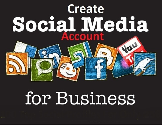 I will Create 100 Social Media Profile For Your Business