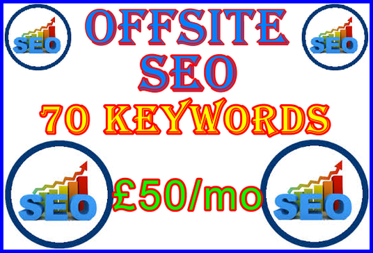 I will Target 70 Keywords with Optimum Offsite SEO Importance