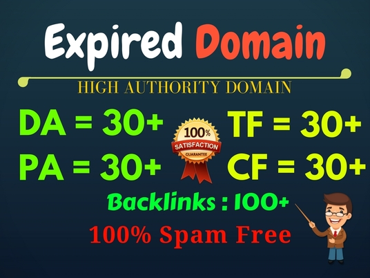 I will research high Metrics Expired Domain