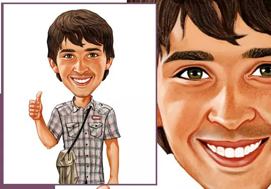 Draw an Awesome Caricature Picture
