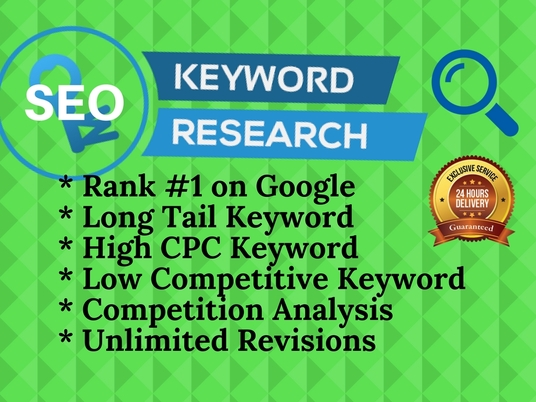 I will do SEO keyword research in 24 hours