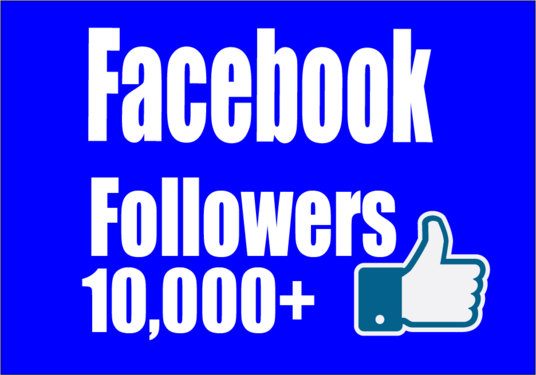 I will add Real 10,000+ Facebook Followers
