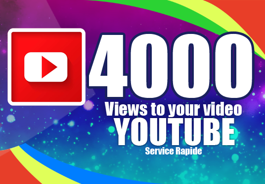 I will add 4000 Views to your video Youtube
