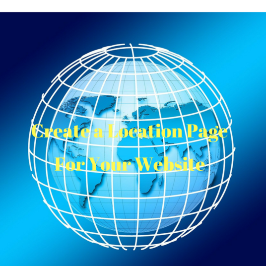 I will create a custom location page for your website to attract local customers