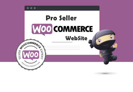 I will develop a complete ecommerce website with woocommerce