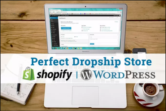 Set up Automated Shopify Or Wordpress Ecommerce Dropshipping Store