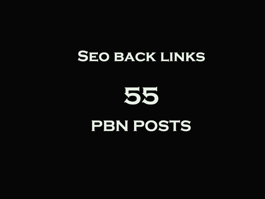 I will Do 55 High Quality Dofollow Pbn Backlinks