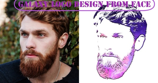 I will Create Logo From Face