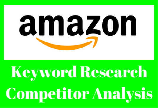 I will Do Low Competition Amazon Keywords Research With Competitor Analysis