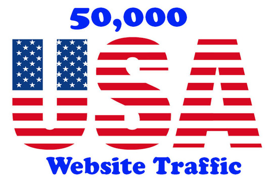 I will give you US based traffic to your website for 30 days