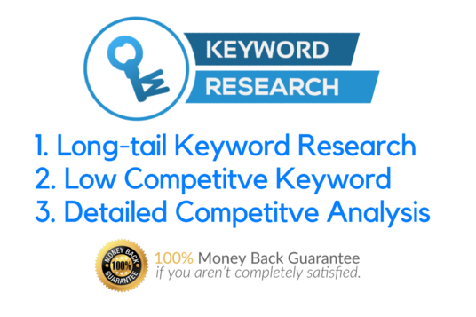 I will do best keyword research with competition analysis