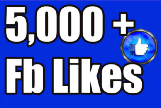 I will Give you 5,000 Facebook Likes