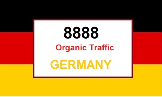 I will Provide 8080 Organic Traffic from Germany