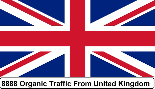 I will Provide 8888 Real Organic Traffic from  UK