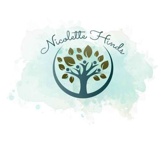 I will design two watercolor logos for you