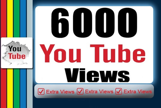 I will add 6000 Youtube views