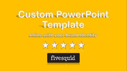 I will create branded PowerPoint template