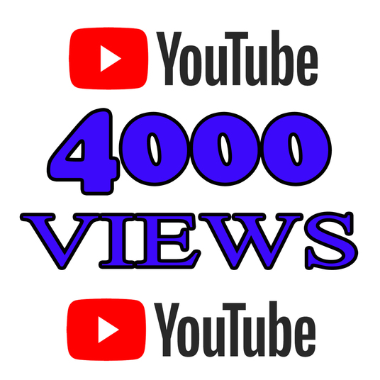 I will Add 4000 High Quality Youtube views