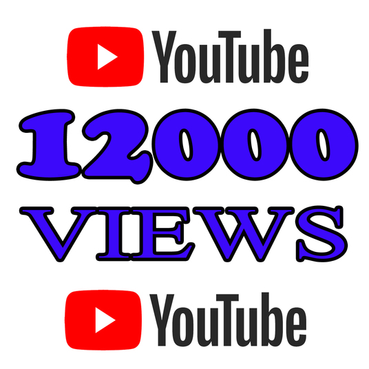 I will Add 12000 High Quality Youtube views