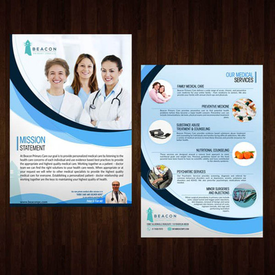 I will do professional leaflet design