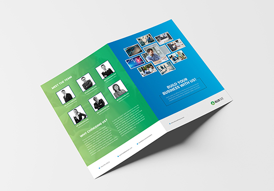 I will Design Bifold Brochure, Report, Booklet, Newsletter