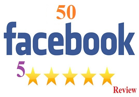 I will give you  50 Facebook Fanpage five star positive review for your fanpage