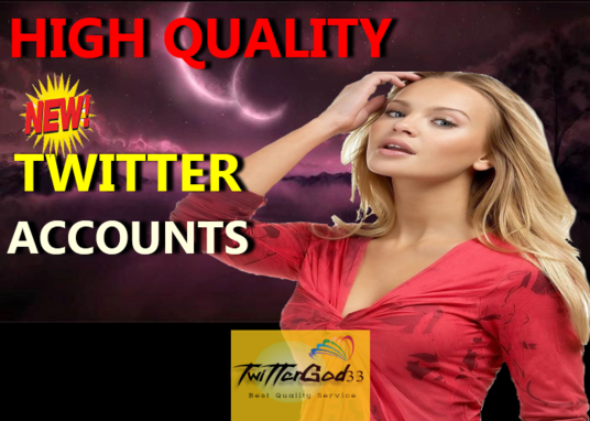 I will Give You 20 High Quality TWITTER ACCOUNTS