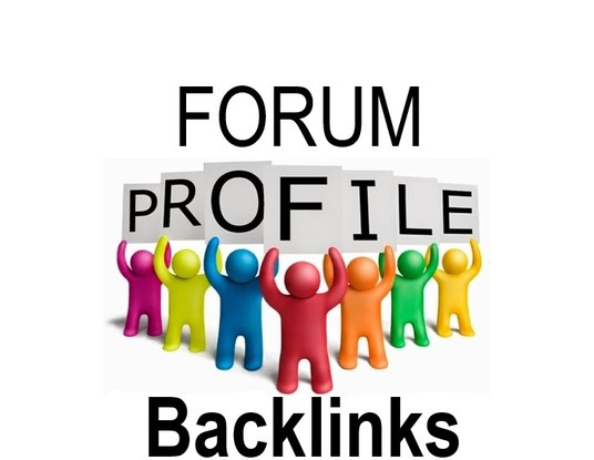 I will manually create 150+ forum profile backlinks