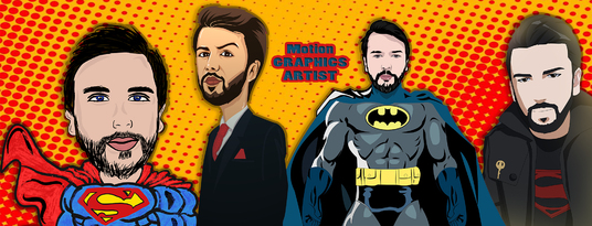 make a SuperHero cartoon of your picture